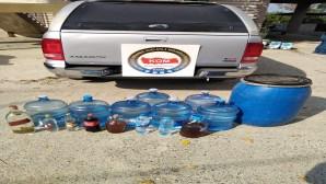 İskenderun'da 350 litre boğma rakı yakalandı