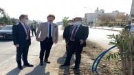 Başkan Eryılmaz'a Hatay Büyükşehir Belediyesi Genel Sekreter Yardımcısı Metin Açık'tan ziyaret