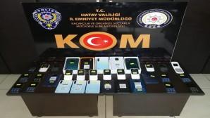 Gümrük Kaçağı 33 Adet cep telefonu yakalandı