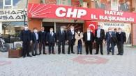 ATSO Başkanı Çinçin'den CHP'ye ziyaret