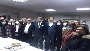 CHP İl Başkanı Parlar, ilçe gezilerine Antakya'da devam etti