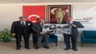 CHP İl Başkanı Parlar, Hatay Büyükşehir Belediye Başkanı Doç. Dr. Lütfü Savaş' ı ziyaret etti
