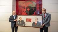 Defne Belediye Başkanı  İbrahim Güzel'den CHP Genel Başkanı Kılıçdaroğlu'na ziyaret