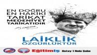 Eğitim İş:  Türkiye  Laiklikle  Güzeldir