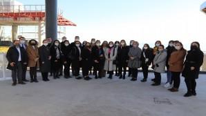 Hataylı Kadın Girişimciler EXPO alanını ziyaret etti