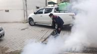 Hatay Büyükşehir Belediyesi'nden haşereyle mücadeleye devam