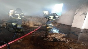 Hatay Büyükşehir Belediyesi Dörtyol'daki yangına anında müdahale etti