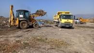 Hatay Büyükşehir Belediyesi kaçak moloz dökümüyle mücadelesi sürüyor
