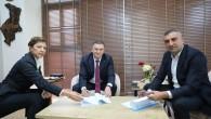 Başkan Savaş, sosyal denge tazminatı protokolünü imzaladı