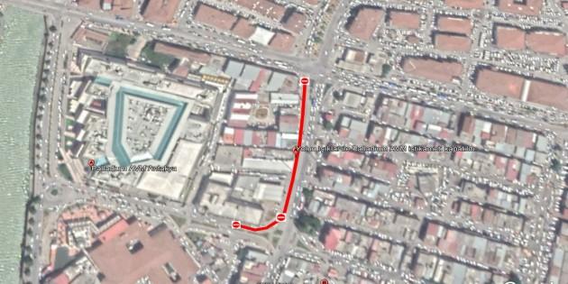 Antakya Yavuz Sultan Selim caddesinin Palladim AVM arasındaki kısmı yarın trafiğe kapatılacak