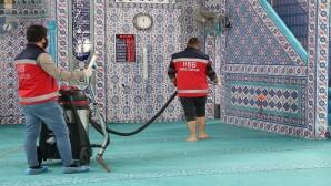 Hatay Büyükşehir Belediyesi ibadethanelerin temizliğini sürdürüyor!