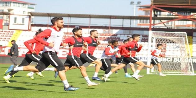 Atakaş Hatayspor Ankargücü maçı hazırlıklarını sürdürüyor