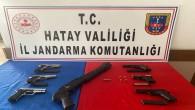 İskenderun'da kaçak silah üreten iki kişi yakalandı