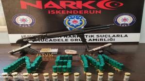 İskenderun'da uyuşturucu satıcılarına operasyon: 32 göz altı
