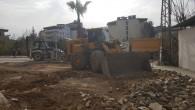 Samandağ'da caddeler ve sokaklar yenileniyor!