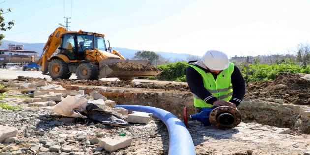 HAT SU: Samandağ'da kaliteli su için çalışmalar tam gaz!