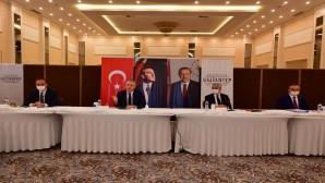 Suriye Görev Gücü Değerlendirme Toplantısı Gaziantep'te  Yapıldı