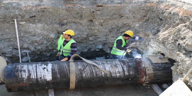 HAT SU: Tavla ve Yeniçağ için içme suyu bağlantı yolu açıldı