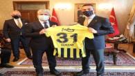 Fenerbahçe Başkanı Ali Koç'tan Vali Rahmi Doğan'a ziyaret