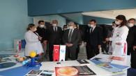 Vali Rahmi Doğan, Antakya Bilim Merkezinde incelemelerde bulundu