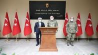 2. Ordu Komutanı Orgeneral Metin Gürak'tan Vali Rahmi Doğan'a Ziyaret