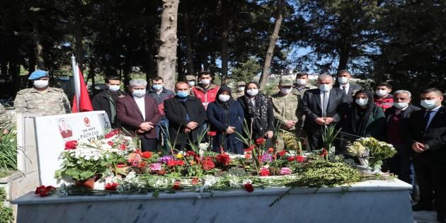 Vali Rahmi Doğan'dan İdlib Şehitlerine Ziyaret