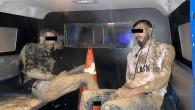 Jandarma Altınözü'nde Sınırdan geçmek isteyen  2 kişiyi  15.600 gram esrarla yakaladı