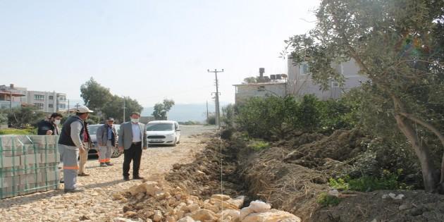 Samandağ Belediyesi yeni caddeler kazandırmaya devam ediyor