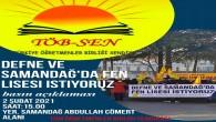 Samandağ TÖB-SEN'den Fen Lisesi  Basın açıklaması
