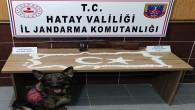 Jandarma, sınırda 10 bin adet Captagon hapı ile tamburalı makinalı tüfek yakaladı