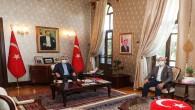 Türkiye Varlık Fonu Genel Müdürü Sönmez'den Vali Doğan'a Ziyaret