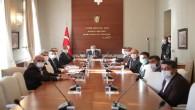 Vali Doğan, Kırıkhan ve Hassa OSB ile ilgili yapılan toplantıya başkanlık yaptı
