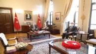 Vali Rahmi Doğan Milletvekili Hüseyin Yayman'ı ağırladı