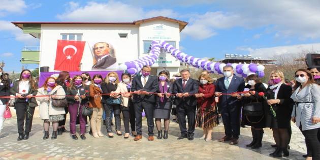 Defne Belediyesinden 8 Mart'ta Anlamlı Açılış