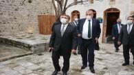 AK Parti İl Başkanı Adem Yeşildal Antakya Belediyesi El Sanatları Müzesini ziyaret etti