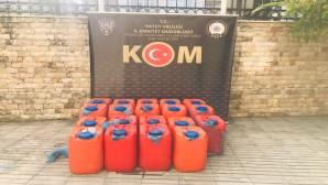 Güvenlik görevlisi elektrikli jeneratörlerden 800 litre akaryakıt çaldı
