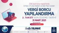 Antakya Belediyesi'nde, Emlak ve Çevre Temizlik vergilerinde yapılandırma yapanlara uyarı!