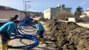 HAT SU: Arsuz'da içme suyu yenileme çalışmaları sürüyor