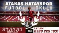 Atakaş Hatayspor Futbol Okulları başlıyor