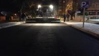 Antakya'da bir gecede beton asfalt atağı
