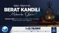 Başkan İzzetin Yılmaz berat Kandilini kutladı