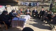 Başkan İzzetin Yılmaz İkiz yavruların ailesine taziye ziyaretinde bulundu