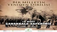 Başkan Güzel'den 18 Mart Çanakkale Zaferi eve Şehitleri anma günü mesajı