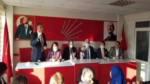 CHP Milletvekillerinden CHP ve İyi Parti ilçe örgütlerine ziyaret