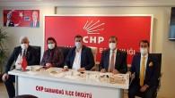 CHP Milletvekillerinden Samandağ çıkartması!
