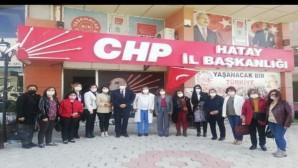 Cumhuriyet kadınlarından, CHP'ye ziyaret