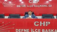 Defne Belediyesi CHP grup başkanvekilliği görevine deneyimli siyasetçi Semir Baklacı seçildi
