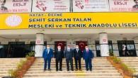 Defne Belediye Başkanı İbrahim Güzel, Milli Eğitim Bakan Yardımcısı Mahmut Özer'e Anadolu Lisesi için yer tahsisinde bulunacaklarını belirtti!
