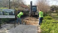 Defne Belediyesi: Parke döşeme, asfalt ve Fen İşleri Çalışmalarımız sürüyor