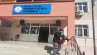 Defne Belediyesi Okulları dezenfekte etti